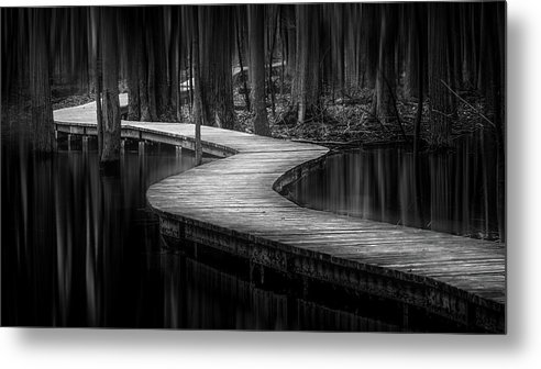 Nature Metal Print featuring the photograph The Path Of Life by Yves Keroack