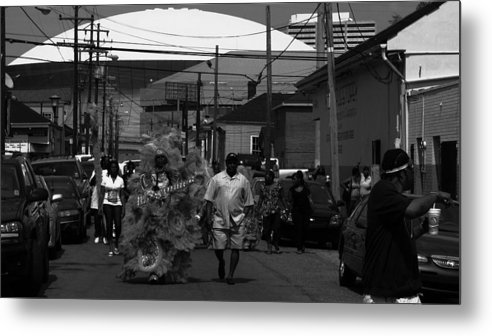 New Orleans Metal Print featuring the photograph The Superest Of Sundays by David Fields