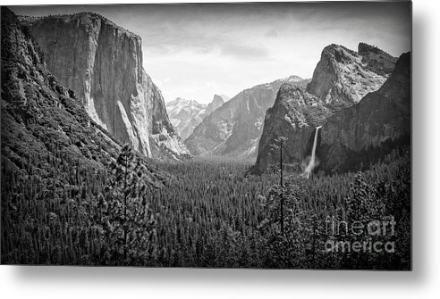 Yosemite Metal Print featuring the photograph The Valley by Larry Moore