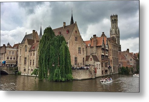 Brugge Metal Print featuring the photograph Venice Of The North by Dave Byers