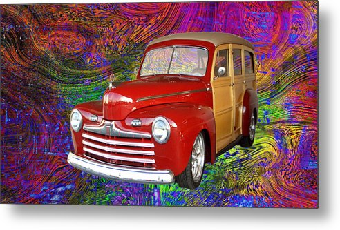 Old Metal Print featuring the photograph Woody Swirl by Bob Welch