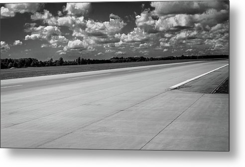 Landing Track Metal Print featuring the photograph Landing Track by Borja Robles