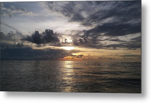 Sunset Metal Print featuring the photograph Sunset by Cora Jean Jugan