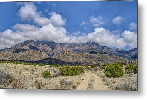 Southwest Usa Metal Print featuring the photograph View Of Sandia Mountain by Alan Toepfer