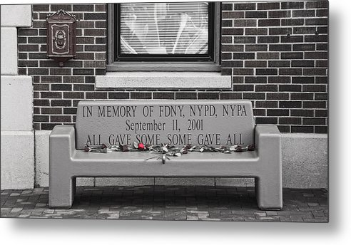 Fdny Metal Print featuring the photograph A Rose by Koji Kanemoto