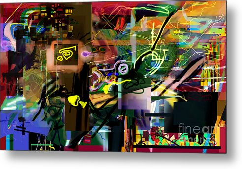 Metal Print featuring the digital art A Way To Bring The World To Tsheuvah 14 by David Baruch Wolk
