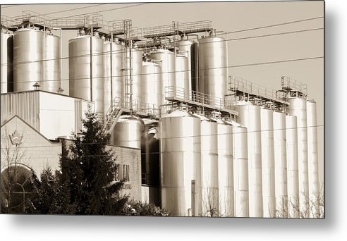 Brewery Metal Print featuring the photograph Brewery by Nick Mares