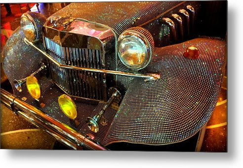 Classic Car Metal Print featuring the photograph Liberace's Ride by Donna Spadola