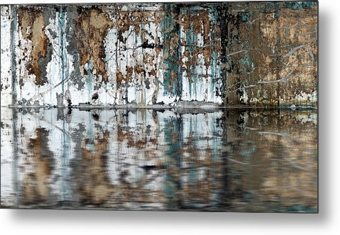 Reflection Metal Print featuring the photograph Reflection by Rick Mosher