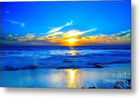Sunset Metal Print featuring the photograph Blue Heaven #3 by Dennis Wat