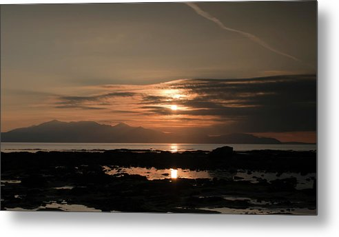 Sunset Metal Print featuring the photograph Arran Sunset by Sam Smith