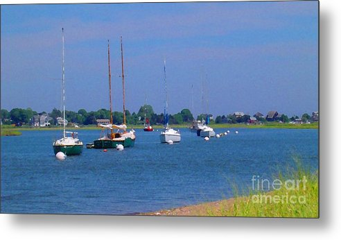 Photograph Metal Print featuring the photograph Beautiful Sunday by Susan Strickland