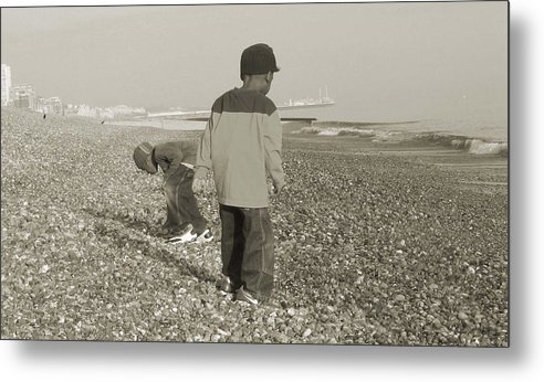 Picture Metal Print featuring the photograph Brighton by LeeAnn Alexander