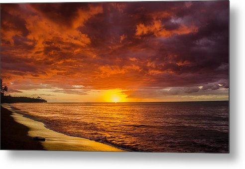 Beach Metal Print featuring the photograph Christmas In Paradise by Guillermo Cummmings