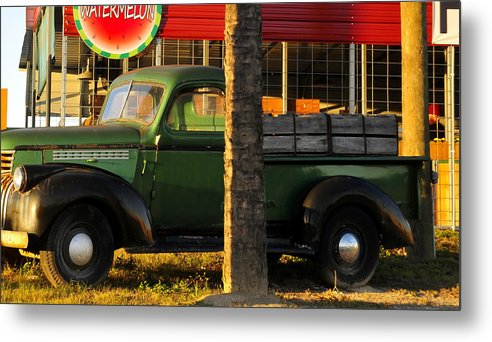Farmers Market Metal Print featuring the photograph Farmers Market by David Lee Thompson