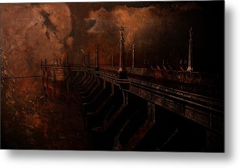 Fire Metal Print featuring the photograph Fire At Diablo by Jeff Burgess