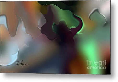 Relations Metal Print featuring the digital art Relations by Leo Symon
