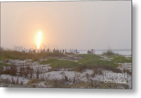 Shuttle Launch Metal Print featuring the photograph Shuttle Launch by David Lee Thompson