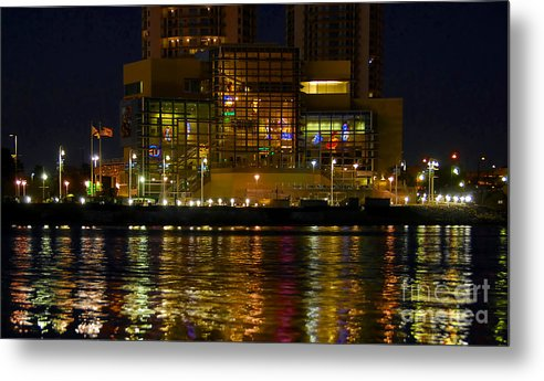 Tampa Bay History Center Metal Print featuring the photograph Tampa Bay History Center by David Lee Thompson