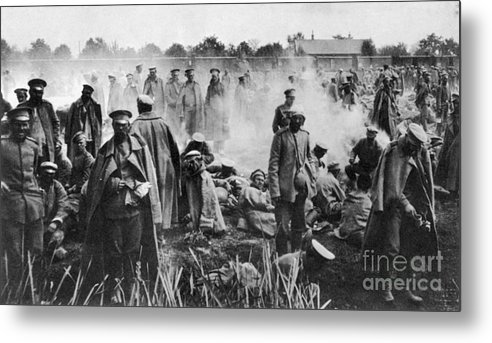 1914 Metal Print featuring the photograph World War I: Russians 1914 by Granger