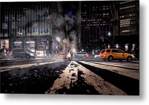Nyc Metal Print featuring the photograph Gotham - Breaking Dawn by Jackson Carvalho