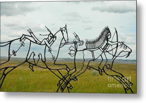 Montana Metal Print featuring the photograph Little Bighorn Battlefield by Nick Boren