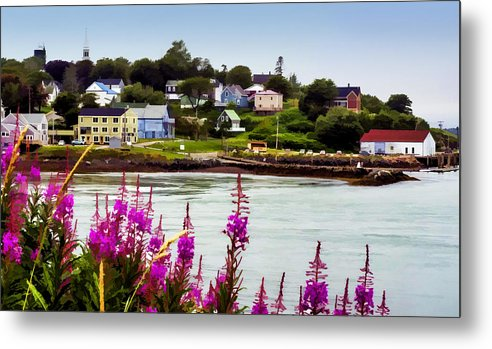 Lubec Metal Print featuring the photograph Lubec by James Black