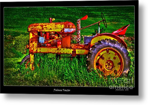 Palouse Metal Print featuring the photograph Palouse Tractor by Frank Martin