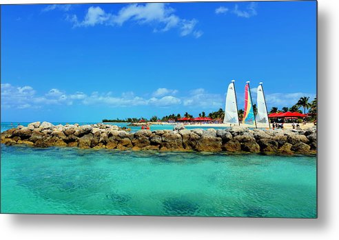 Dream Metal Print featuring the photograph Sail With Dream by AZ Imaging