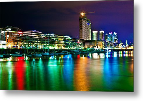 Buenos Metal Print featuring the photograph Over The Rainbow by Francisco Colon