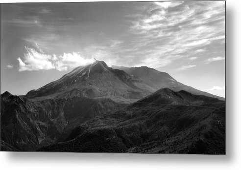 Landscape Metal Print featuring the photograph St. Helens by Ty Nichols