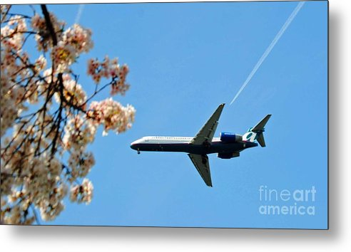 Tran Metal Print featuring the photograph Air Tran Airlines by Jost Houk
