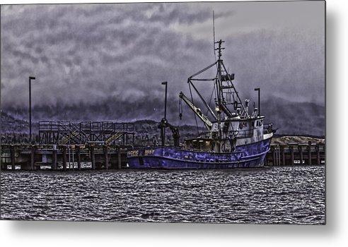 Alaska Metal Print featuring the photograph Fishing Boat09 by Timothy Latta