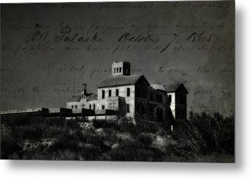 Spain Metal Print featuring the photograph The Most Haunted House In Spain. Casa Encantada. Welcome To The Hell by Jenny Rainbow