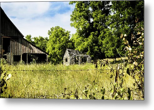 Barn Metal Print featuring the photograph Vintage Dream by Judy Hall-Folde