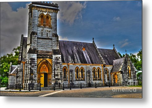 Church Metal Print featuring the photograph Bodalla All Saints Anglican Church by Joanne Kocwin