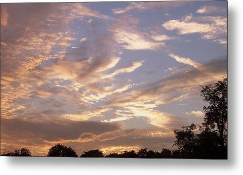 Landscape Metal Print featuring the print After The Rain by Beverly Baxter
