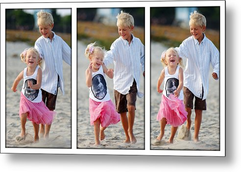 Happy Contest Metal Print featuring the photograph Happy Contest 15 by Jill Reger