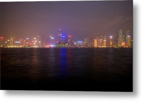 Harbor Metal Print featuring the photograph Hong Kong Harbor December 2 by Brad Rickerby