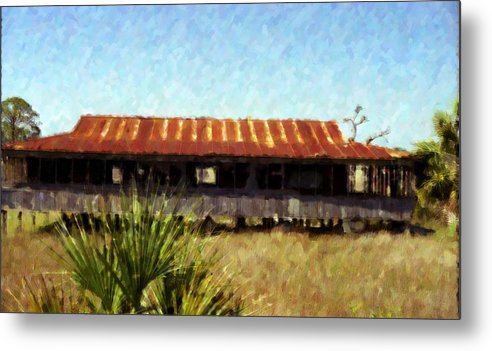 Landscape Metal Print featuring the photograph Old Florida by Michael Morrison