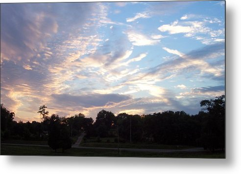 Skyscape Metal Print featuring the print Southern Sky by Beverly Baxter