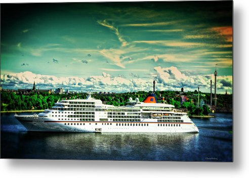 Stockholm Metal Print featuring the photograph Stockholm X by Ramon Martinez