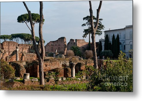 Palatino Metal Print featuring the photograph The Palatino At Dusk by Andy Smy