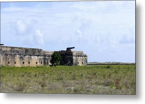 Fort Metal Print featuring the photograph Fort Pickens by Laurie Perry
