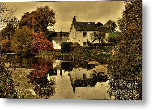 Rock Metal Print featuring the photograph Rock Cottage by Rob Hawkins