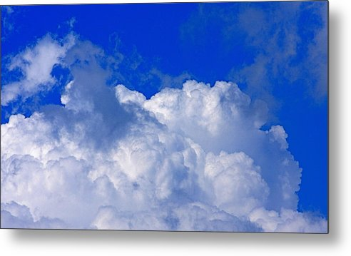 Clouds Metal Print featuring the photograph Storm Clouds From Ike by Kenna Westerman