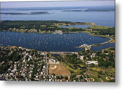 America Metal Print featuring the photograph Bristol, Rhode Island by Dave Cleaveland