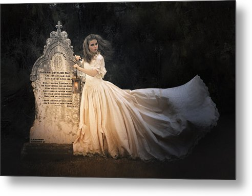 Whimsical Metal Print featuring the photograph Love Lost by Kim Mueller