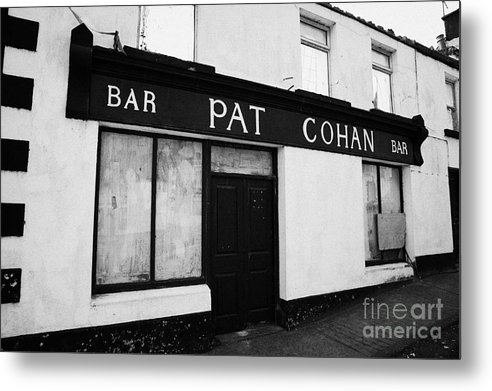 Ireland Metal Print featuring the photograph Pat Cohans Bar Featured In The John Wayne John Ford Classic The Quiet Man Cong by Joe Fox