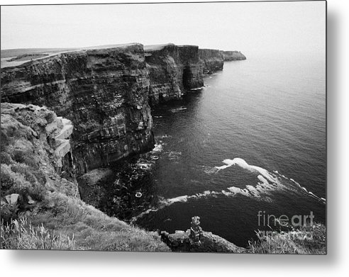 Ireland Metal Print featuring the photograph Cliffs Of Moher County Clare Ireland by Joe Fox